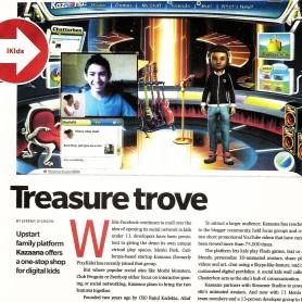 Kazaana in Kidscreen Magazine